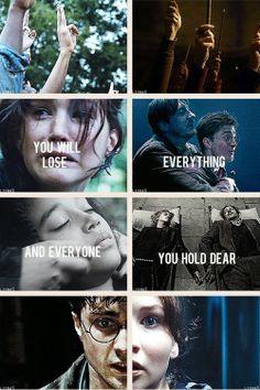 Hunger Games & Harry Potter GIF