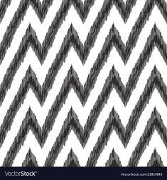 Seamless pattern ikat wallpaper in ottoman style vector image on VectorStock Ikat Pattern, Pattern Design, Print Design, Graphic Design, Tribal Pattern Wallpaper, Chevron Wallpaper, Tribal Background, Warwick Fabrics, Turkish Fashion