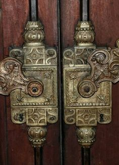 Amazing door details