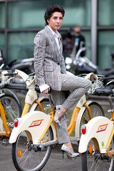 Неделя моды в Милане F/W 2015: street style. Часть 3 (фото 10)