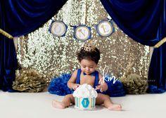 Prince cake smash, prince themed , prince party