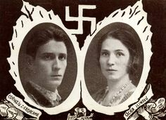 Codreanu and his wife, Romania WWII - pin by Paolo Marzioli Flak Tower, Mg 34, Sick Of People, Distinguish Between, Historical Photos, World War Ii, Wwii, History, Artwork