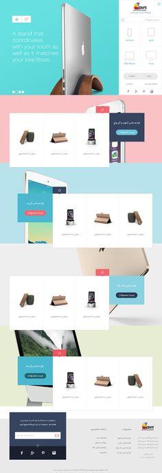 The1Rak  luxury accessories shop online  UI/UX Design #ui #ux #webdesign #visual #iran