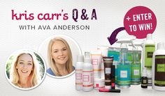 Toxic Products & Greenwashing: What Everyone Should Know...GREAT GIVEAWAY FROM AVA ANDERSON NON TOXIC AND KRIS CARR!