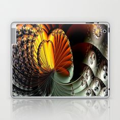 AetherealVibesSeries061 Laptop & iPad Skin by fracts - fractal art - $25.00
