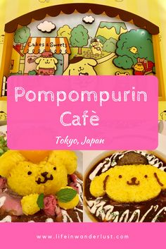 Sanrio and Hello Kitty fan?  Dining at the Adorable Pompompurin Cafe Harajuku in Tokyo Japan!