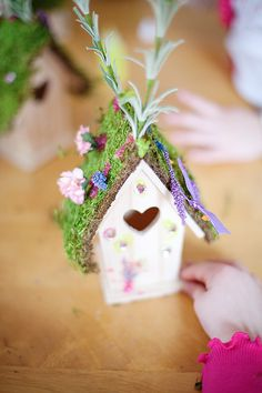 The Portrait Parties - Garden fairy party craft.  So darling.