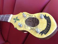 1930 Epiphone Mayfair tenor banjo with original hard case #Epiphone