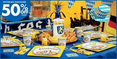 Oktoberfest Party Supplies & Decorations - Party City 50% off