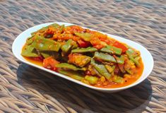 Indian-style green beans - Tasty Vegan Life