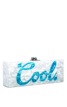 Flavia Cool by Edie Parker for Preorder on Moda Operandi