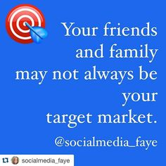 Friends and family may like your business page and boost your post likes but those likes and follows usualy don't count .  These people are mostly liking and commenting to show that they support you as a friend and they usualy are not the ones to actually become a client or customer.  I aim for new followers  people that i do not know yet and people that may need the service i offer.#marketing #marketingtips #marketingadvice #smm #socialmedia #socialmediamarketing #socialmediatip…