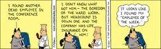 Dilbert Classics by Scott Adams for Fri 19 Mar 2021 #Dilbert #Comics Dilbert Comics, Scott Adams, Got Him, Comic Strips, March, Jokes, Classic, Life, Derby