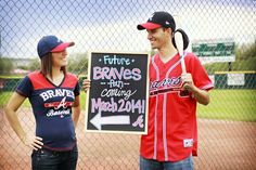 Braves pregnancy announcement!