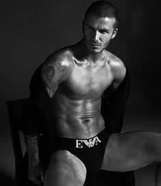 Hey David Beckham, looking good with the bulge I that black Emporio Armani underwear.