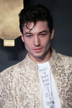LaineyGossip|Formerly pretentious Ezra Miller had to recognize his ambivalence had no place in promoting big budget films