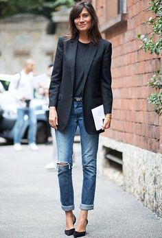 Fashion - black- denim