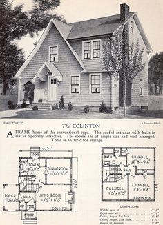 1928 Home Builders Catalog - The Colinton | by American Vintage Home