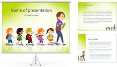 plantillas para powerpoint niños - Buscar con Google                                                                                                                                                     Más