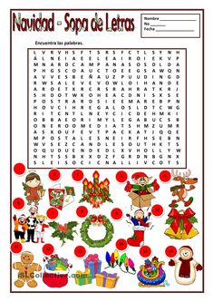 Printing Videos Structure How To Learn Spanish At Home Christmas Crossword, Christmas Puzzle, Spanish Christmas, Spanish Holidays, Spanish Games, Spanish Lessons, Learn Spanish, Spanish 1, Spanish Teacher