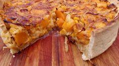 Tarta de humita y calabaza en masa casera Empanadas, Hawaiian Pizza, Sin Gluten, Lasagna, Quiche, Good Food, Low Carb, Mamma Rosa, Breakfast