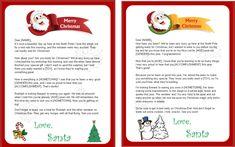 37 Best Printable Santa Letters Images Letters Christmas Letters
