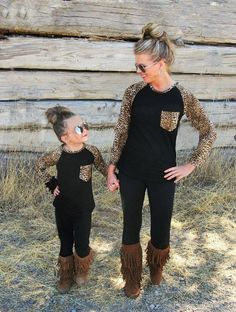 New Fashion Family Matching Outfits Patchwork flower Long sleeve Striped T-Shirts Cotton mother and daughter clothes family look Mommy And Me Outfits, Kids Outfits, Mommy And Me Dresses, Preppy Outfits, Girly Outfits, Fashion Outfits, Tailgate Outfit, Tailgating Outfits, Mother Daughter Fashion