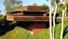 Sturges House, Frank Lloyd Wright, Brentwood, California, 1939. Usonian Style (overseen by Taliesin fellow John Lautner)