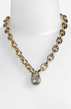 Michael Kors Pendant Necklace available at #Nordstrom