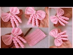 Crochet Flower Tutorial, Easy Crochet Patterns, Yarn Crafts, Diy And Crafts, Knitted Flowers, Headband Hairstyles, Crochet Yarn, Hair And Nails, Free Pattern