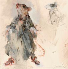 Mouse - Cinderella. John Macfarlane Theatre Costumes, Puppet Theatre, Renaissance Dresses, Portraits, Costume Design, Illustrators, Fashion Art, Character Design, Artsy