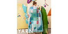 A crazy mix of diverse patterns combining three-dimensional and flat stitches. This design takes the humble granny square to its extreme. Baby Afghan Crochet, Baby Afghans, Crochet Blankets, Yarn Colors, Three Dimensional, Zine, Finding Yourself, Textiles, Stitch