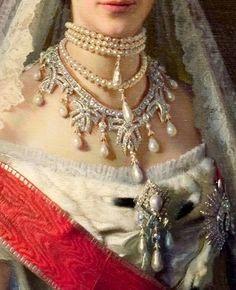Maria Feodorovna by Ivan Kramskoy  - Click to enlarge