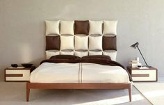 wall decoration ideas and unusual bed headboard designs