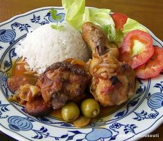 Spanish chicken drumsticks. Don't understand a word on this recipe. The pictures are enough.