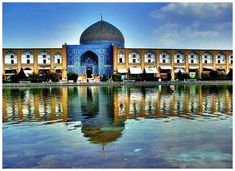 The Mosque at Isfahan.