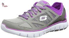 Skechers  Skech-FlexRoyal Forward, Sneakers basses femmes - Gris - Gris (Gypr), Taille 37 EU - Chaussures skechers (*Partner-Link)