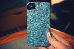 Glitter Iphone Case DIY