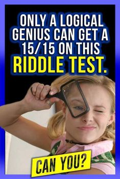 Take this test to see if your IQ is as high as you think it is by answering logical questions and solving problems. Iq Quizzes, Quizzes And Answers, Playbuzz Quizzes, Riddles With Answers, Buzzfeed Quiz Crush, Would You Rather Quiz, Genius Test, Knowledge Test, Interesting Quizzes