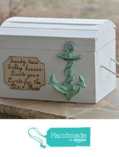 Beach Card Box - Anchor Theme Nautical Wedding Reception Card Holder from Yee Haw Hello http://www.amazon.com/dp/B01G0O8ZJ2/ref=hnd_sw_r_pi_dp_.3ctxb0JBJJSQ #handmadeatamazon