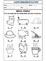 Printable English Worksheets, Vowel Worksheets, Hindi Worksheets, English Worksheets For Kids, Kindergarten Math Worksheets, Kindergarten Reading, Nursery Worksheets, English Phonics, Free Preschool