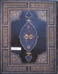 Fig. 7. Cover, Kitab al-furUsiyya, 30 x 24 cm. TKS A. 2129.