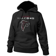 Atlanta Falcons Distressed Authentic Hoodie