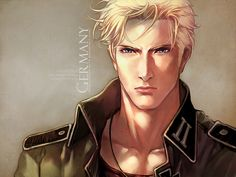 Day 1: Germany is hands-down my favorite.  Also, this is my favorite fan art of him (APH Ludwig by =virus-AC74).  Oh, and I'll warn you ahead of time that I have a huge (probably unhealthy) crush on him~! XP  He's basically the perfect man, though.  He listens well, he's serious, he's respectful, he can cook and clean, and, well, he's gorgeous.  What more could you want, other than him being a real person? ;D