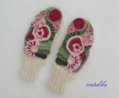 Freeform mittens