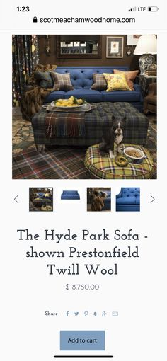Hyde Park, Furniture Companies, Sofa, Settee, Couch, Couches