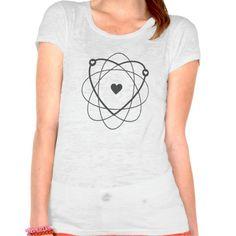 Atom Love Wedding Edition. Geek wear.
