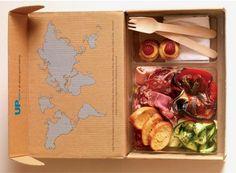 Urban Picnic lunch box Picnic Box, Picnic Lunches, Summer Picnic, Picnic Baskets, Takeaway Packaging, Box Packaging, Packaging Design, Snacking, Wallpaper Magazine