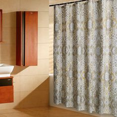 Give Your Bathroom Natural Appeal With The Hookless Jacquard Tree Branch  Shower Curtain. The Ultra Modern Design Brings A Fresh Look To D Cor With U2026 Part 36