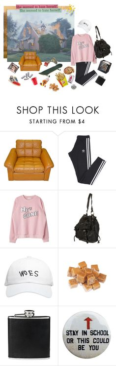 """i was busy being my worst enemy"" by anekochan on Polyvore featuring adidas, October's Very Own, BLACK BROWN 1826 and New Balance"